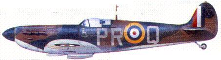 Mk I R6690/PR-Q флэг-офицера Джона Дандэса, июль 1940г.