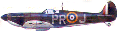 Mk I R6691/PR-J флайт-лейтенанта Фрэнка Хоуелла, август 1940г.