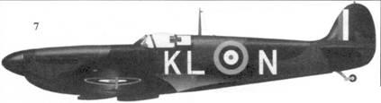 <strong>7. Mk I N3173/KL-N пайлот-офицера Калина Грея, 54-я эскадрилья, Хорнчарч, май 1940г.