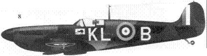 <strong>8. Mk I N3173/KL-B пайлот-офицера Алана Дира, 54-я эскадрилья, Хорнчарч, май 1940г.