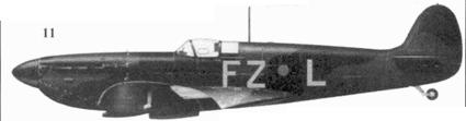 11.Mk I K9906/FZ-L флайт-лейтенанта Роберта Стэнфорда Така, 65-я эскадрилья, Хорнчарч, август 1939г.