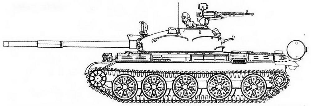 Т-62 выпуска 1972 г.