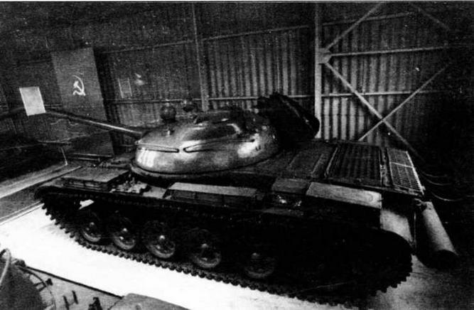 Опытный образец танка «объект 167» сохраняется в Военно-историческом музее бронетанкового вооружения и техники в Кубинке
