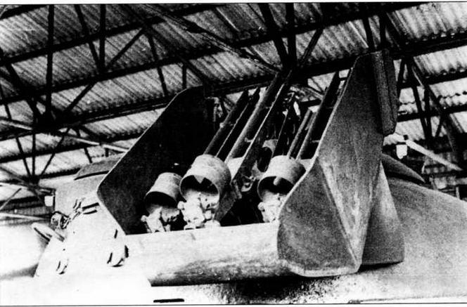 Строенная установка ПТУР «Малютка» на башне танка «объект 167»