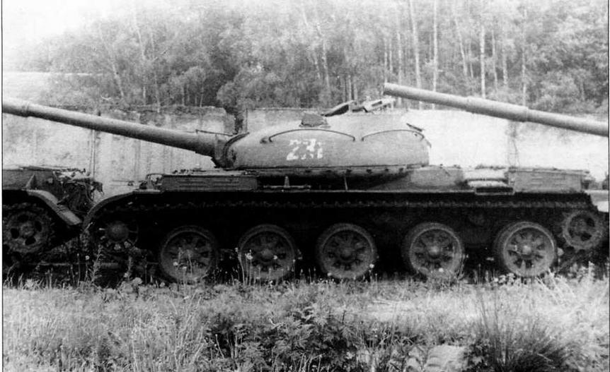 Опытный образец среднего танка «объект 166М»