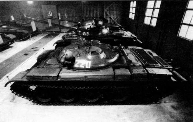 Ракетный танк ИТ-1 в экспозиции музея в Кубинке