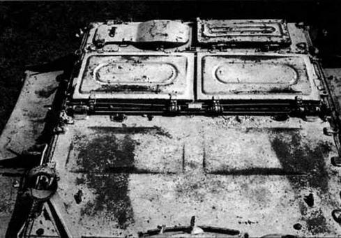 На фото — уплотнительные крышки в рабочем положении для подводного хода