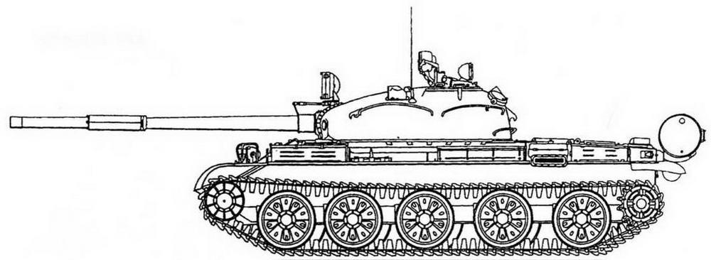 Т-62 выпуска 1962 г.