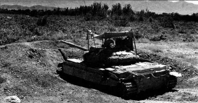 Т-62М в окопе на одном из блокпостов 40-й армии. Афганистан, 1988 год
