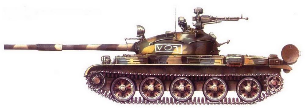 Танк Т-62. 1-я сирийская <a href='https://arsenal-info.ru/b/book/1627328415/38' target='_self'>танковая дивизия</a>, Ливан, 1982 г.