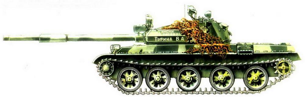 Танк Т-62М из состава Ограниченного контингента советских войск в Афганистане, декабрь 1989 г.