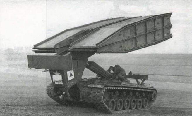 Мостоукладчик AVLB на базе танка М48А1