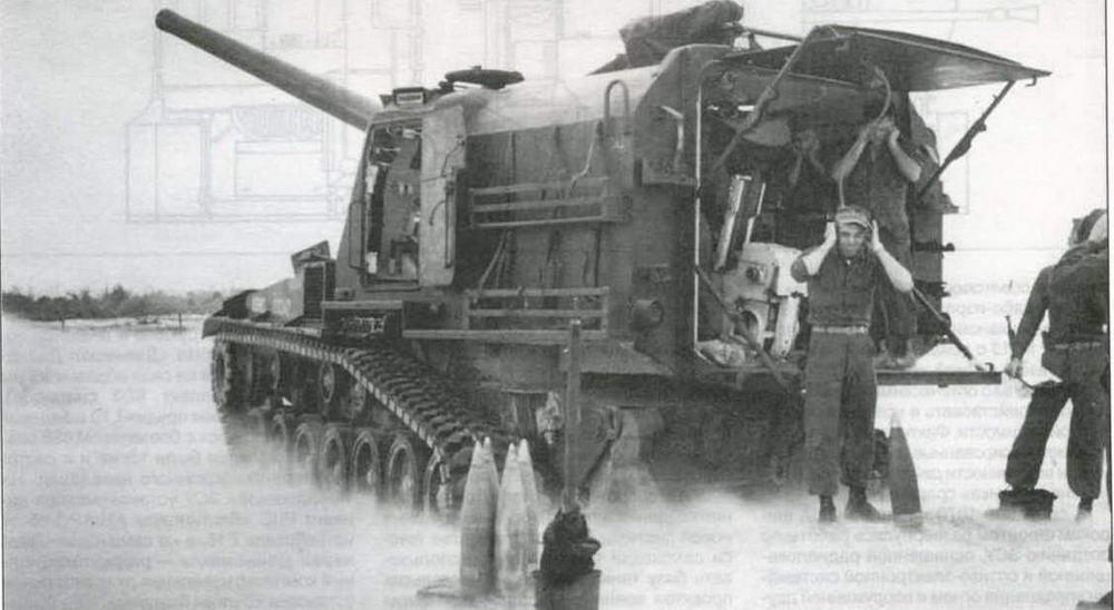 Самоходно-артиллерийская установка М53 американской морской пехоты ведет бой во Вьетнаме