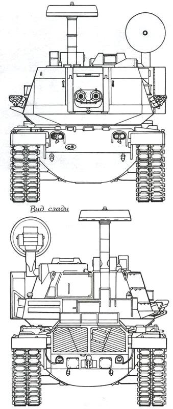 Боевые и специальные машины на базе танка М48