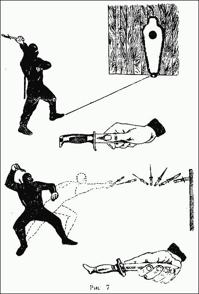 Метание ножа (кинжала)