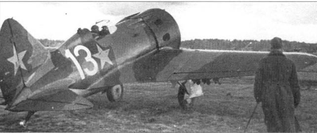 И-16 тип 18 из 7-го истребительного авиационного полка Ленинградского фронта.