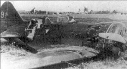 И-16 тип 5 после вынужденной посадки, Юго-Западный фронт, август 1941 г.