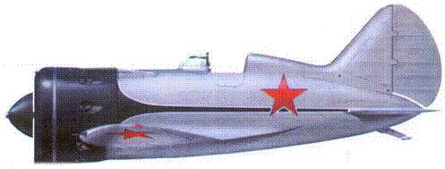 И-16 тип 10 пилотажной группы «Красная пятерка». На самолете летал пилот Якушев. Москва, лёто 1938 г.