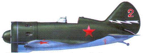 И-16 тип 28. захваченный немецкими войсками летом 1941 г.