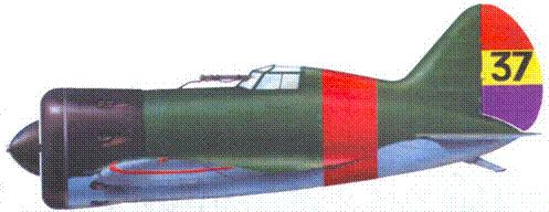 И-16 с бортовым номером «37» из 4-й эскадрильи республиканских ВВС Испании.