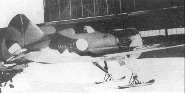 Этот истребитель И-16 был захвачен финнами после вынужденной посадки в период Зимней войны 1939-1940 г.г. Самолет поступил на вооружение LLV-24 ВВС Финляндии.