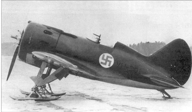 И-16 с бортовым идентификационным кодом «VH-201», снимок начала 1940 г.