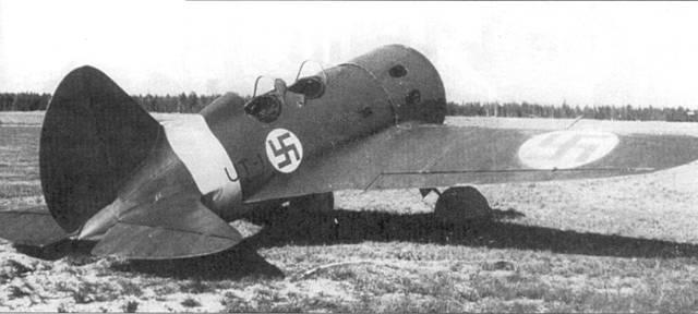 В качестве трофеев финнам достался один-единственный УТИ-4. Изначально самолет получил идентификационный код «VH- 22», 28 ноября 1941 г. измененный на «UT-1».