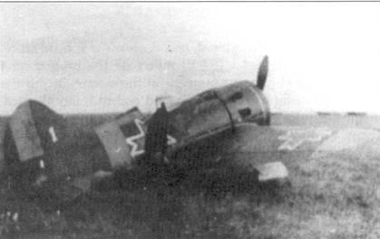 Истребитель И-16, захваченный в качестве трофея румынскими войсками.