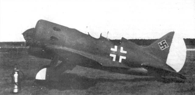 Снимок УТИ-4 сделан на аэродроме Брест-Бранденбург в сентябре 1940 г.