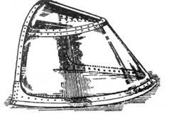 Фиксированный козырек фонаря кабины, применялся, начиная с И-16 тип 10.