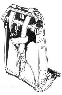 Спинки кресла пилота