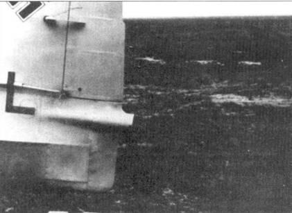 Фрагмент хвостового оперения и сопло Me 163A(V7, CD+IL).