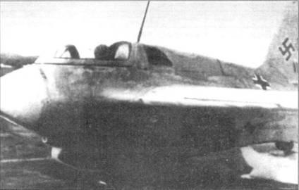 Me 163 V6, оснащенный двухкамерным двигателем.