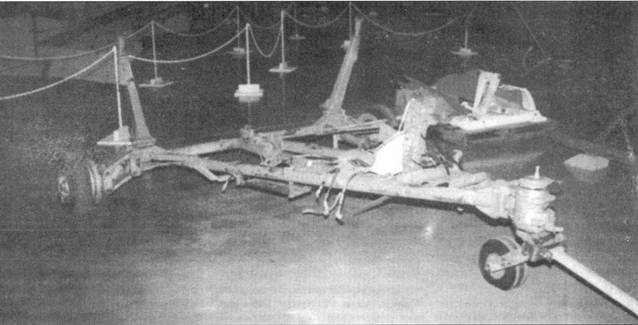 Тележки для перевозки «Кометы» в Australian War Memorial, Канберра.
