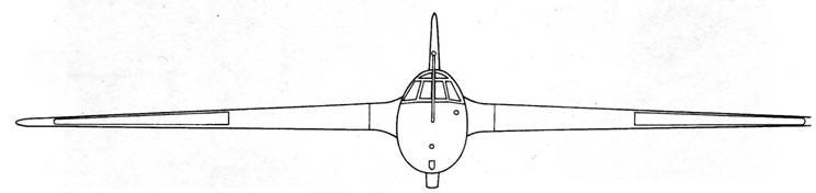 DFS 194 вид спереди