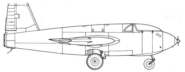 Me 163 D