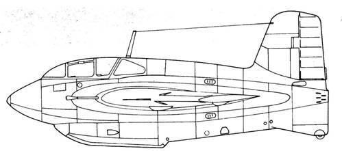 J8M1 Shusui вид слева