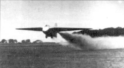 Первый взлет DFS 194 на ракетном двигателе, Пенемюнде, август 1940 года.