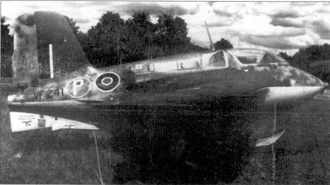 Me 163 VF 241, на котором летал Э. Браун.
