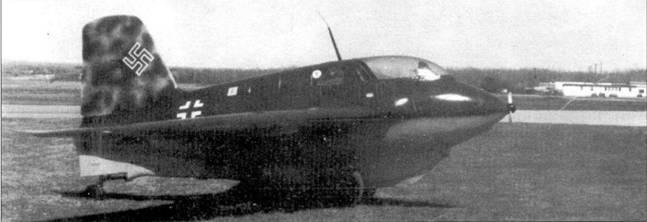 Me 163В, W.Nr. 191095.