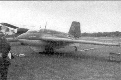 Me 163 W.Nr. 191904 в Колене.