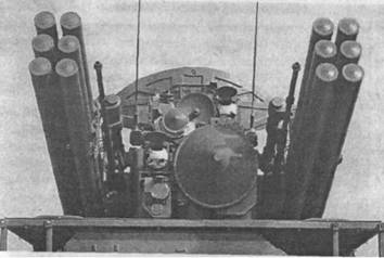 Башенная установкакомплекса «Панцирь-С1» с вооружением, системами обнаружения и сопровождения