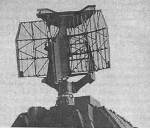 Антенна станции обнаружения ЗРК «Тор»