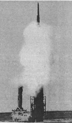 Пуск ракеты из комплекса -Антей-2500-