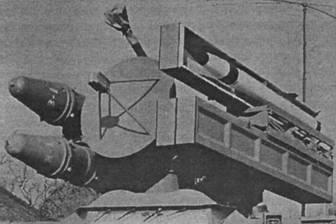 Пусковая установка: слева «Cactus» R-440, справа SAHV-3