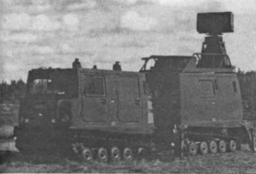 ЗРК в походном положении (во второй прицепе размещена РЛС PS-91 HARD)