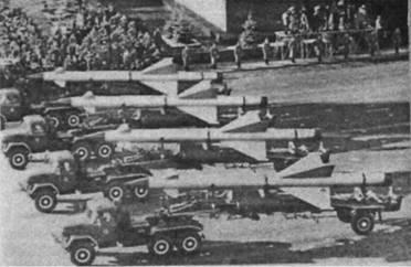 ЗУР В-300 на параде 7 ноября 1960г.