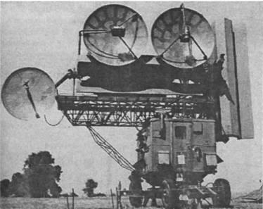 Приемо-передающая кабина станции наведения ракет СНР-75
