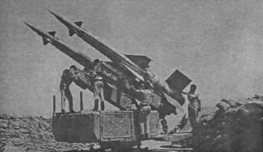 Пусковая установка 5П71 египетских сил ПВО