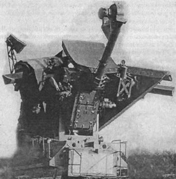 Антенный пост станции наведения ракет СНР-125